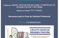 SOLEXIN PARTICIPA EN CONSTRUTEC CON INNOVACIONES EN REHABILITACION EN EL STAND DE ANERR