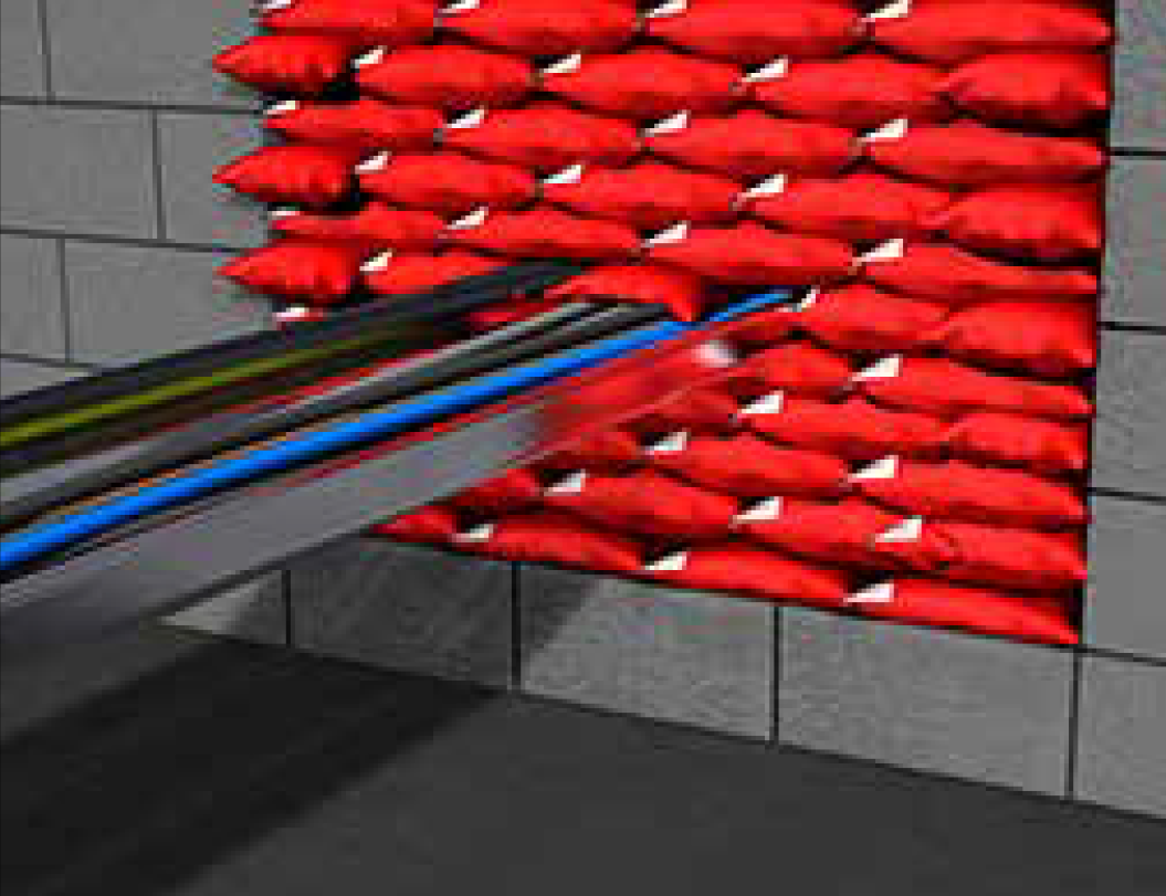 Almohadillas Paso de Cables Tipo C