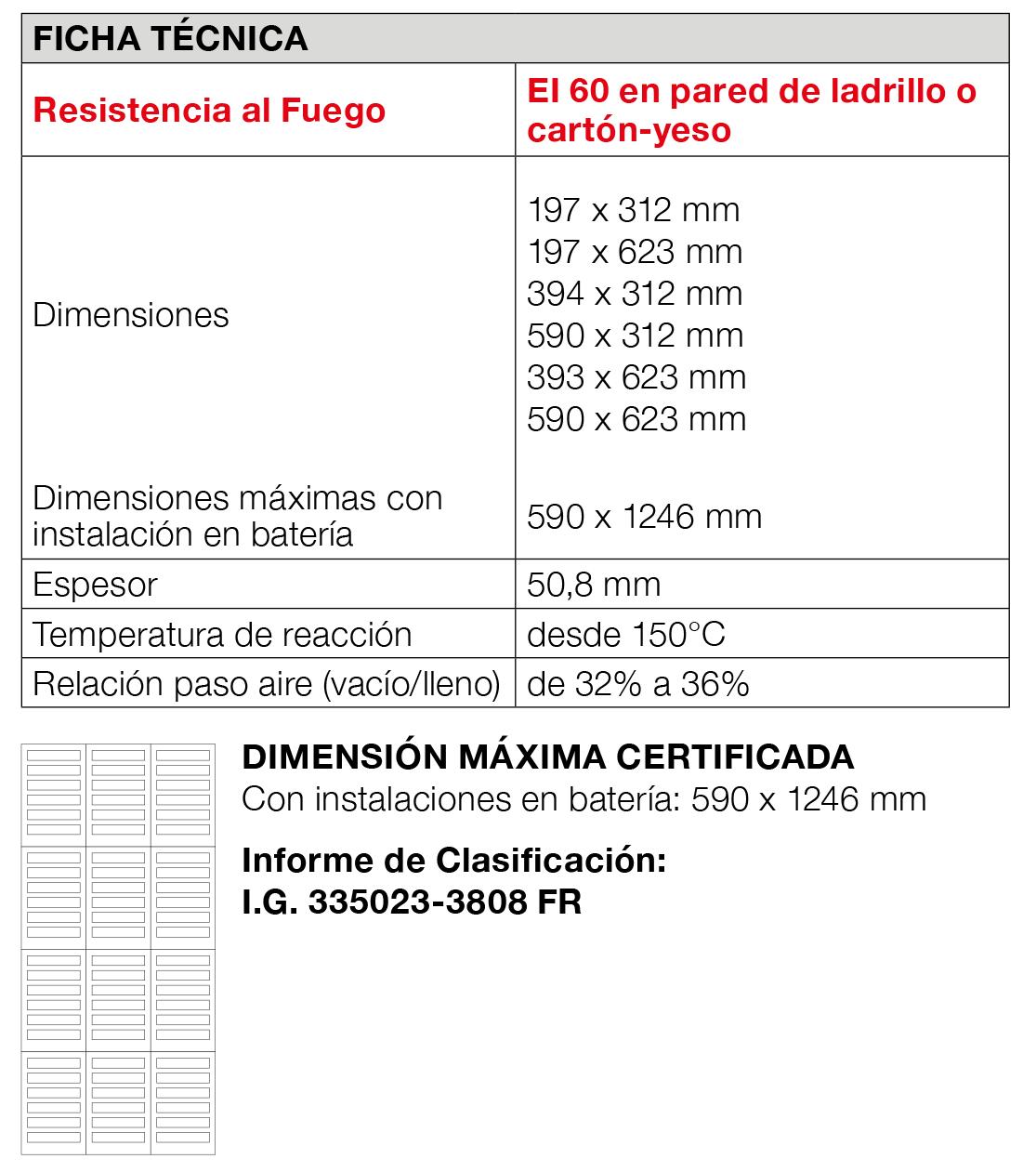 Rejillaaireacion GB-GA 60