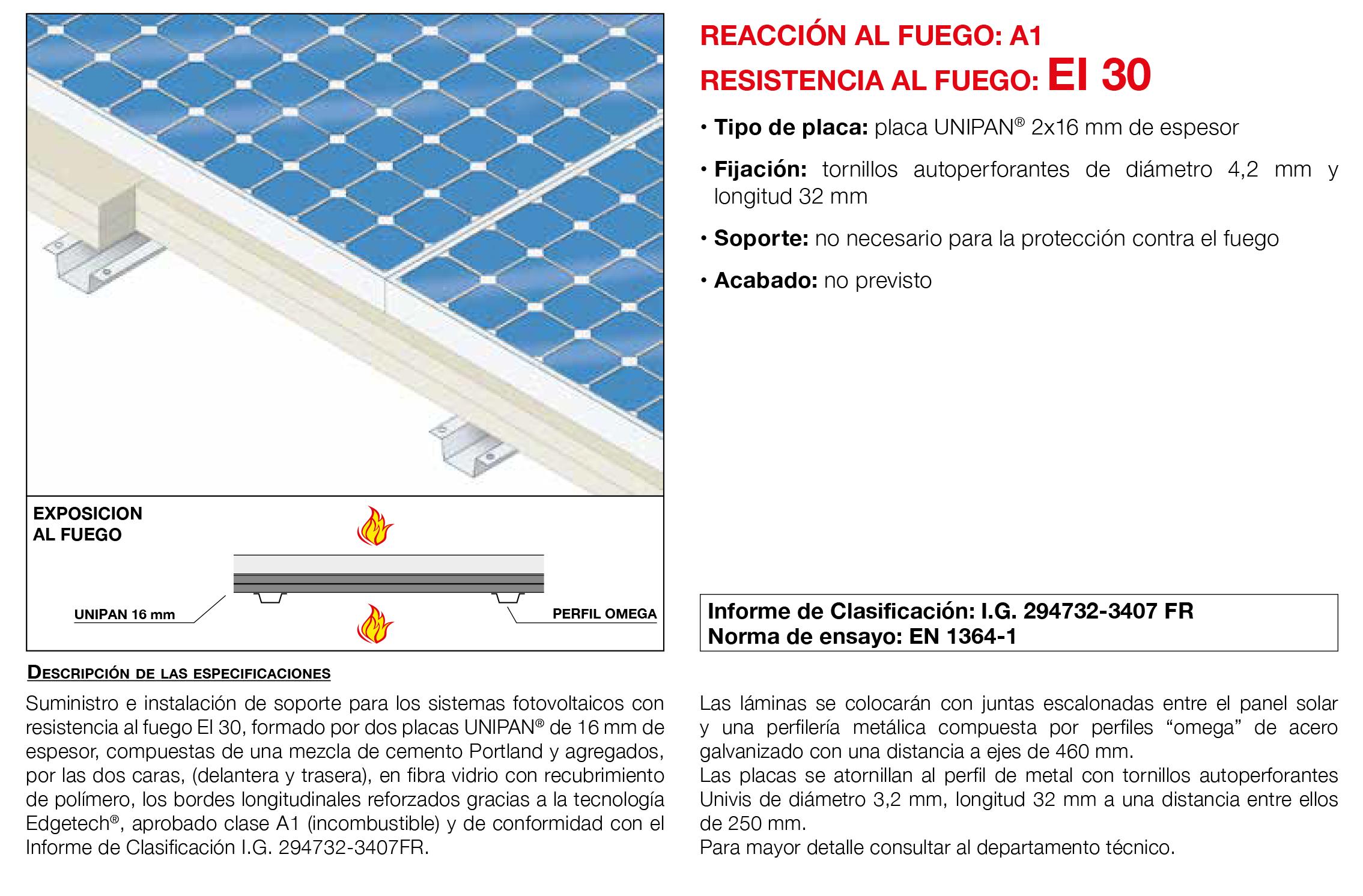 5.53 Soporte de Placa Fotovoltaica EI30´