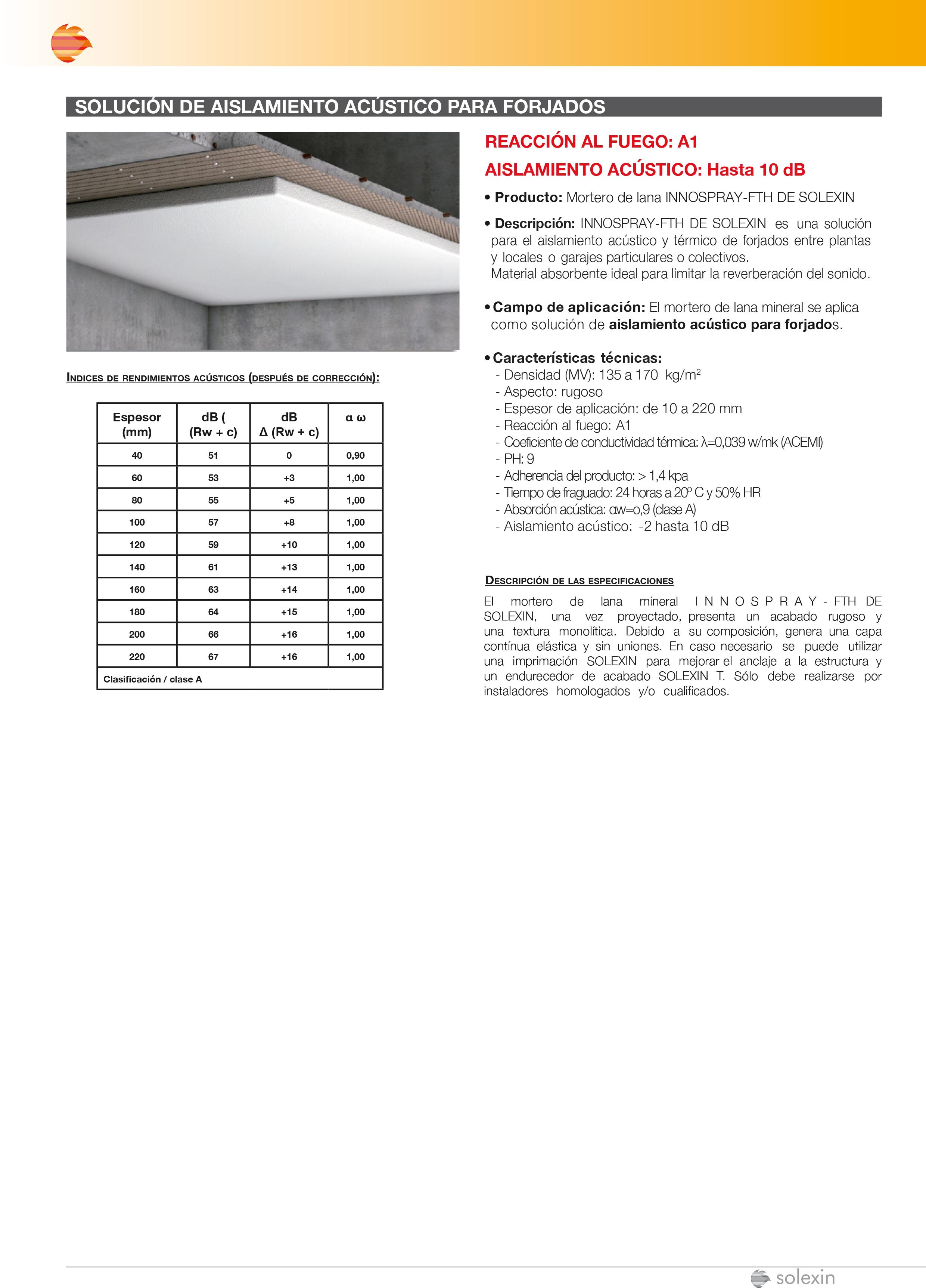 Catálogo - Aislamiento Acústico