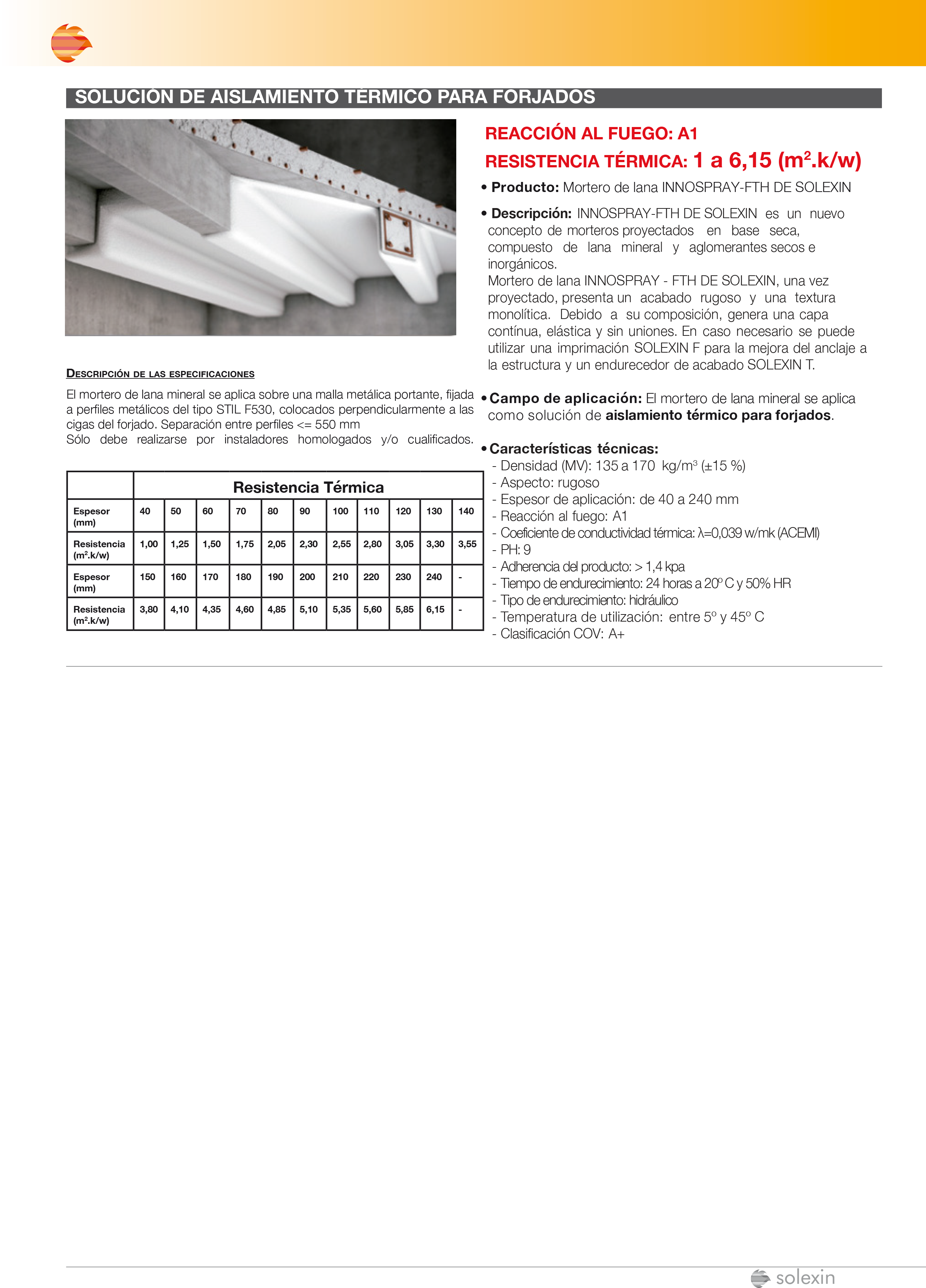 Catálogo - Aislamiento Térmico