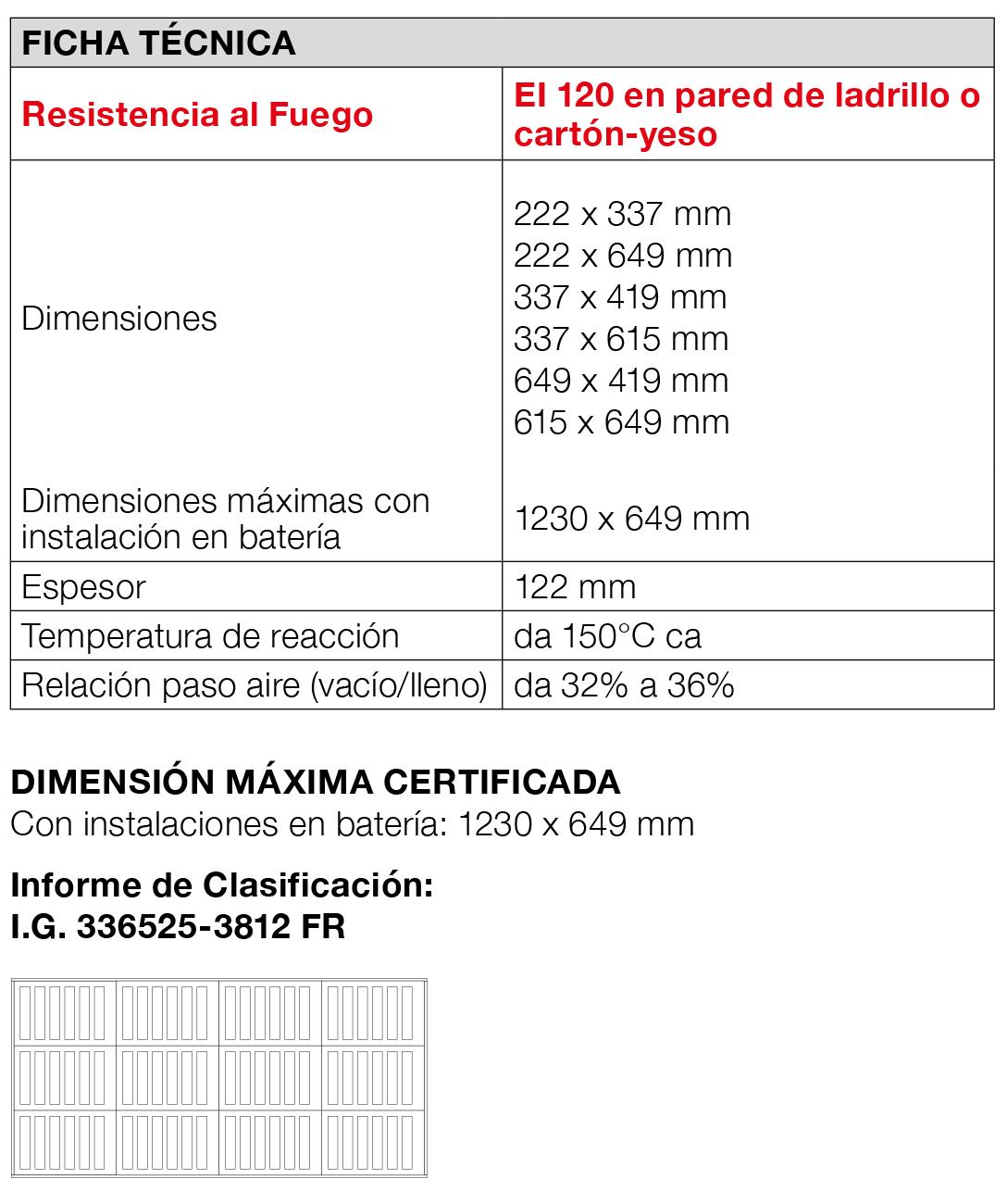Rejillaaireacion GB-GA 120